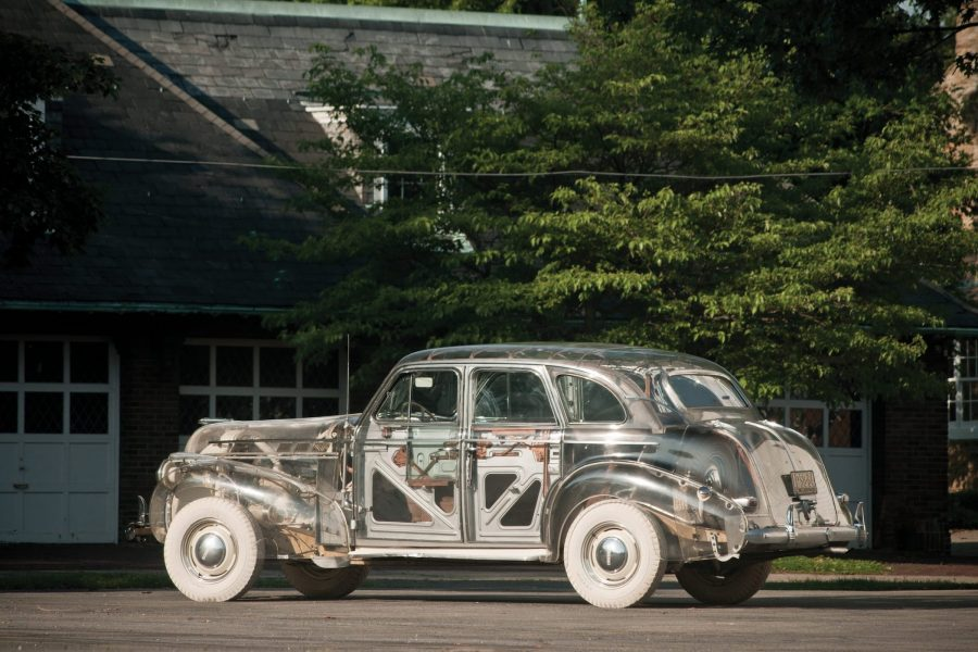American Obscurities: Bare Steel and Plexiglas-Bodied Cars