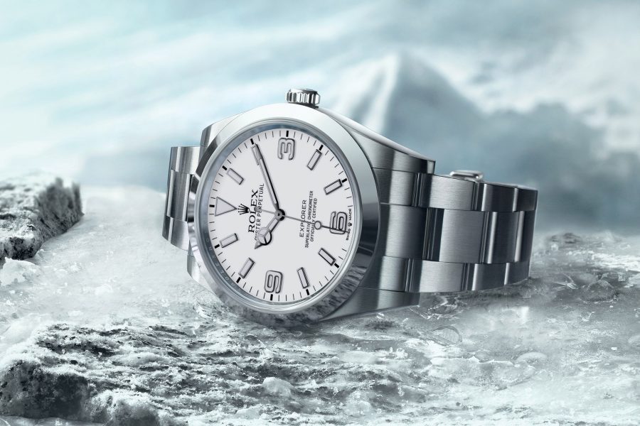 Rolex Predictions 2021 – The Rolex Explorer 1 in 41mm and 36mm with a Polar Dial
