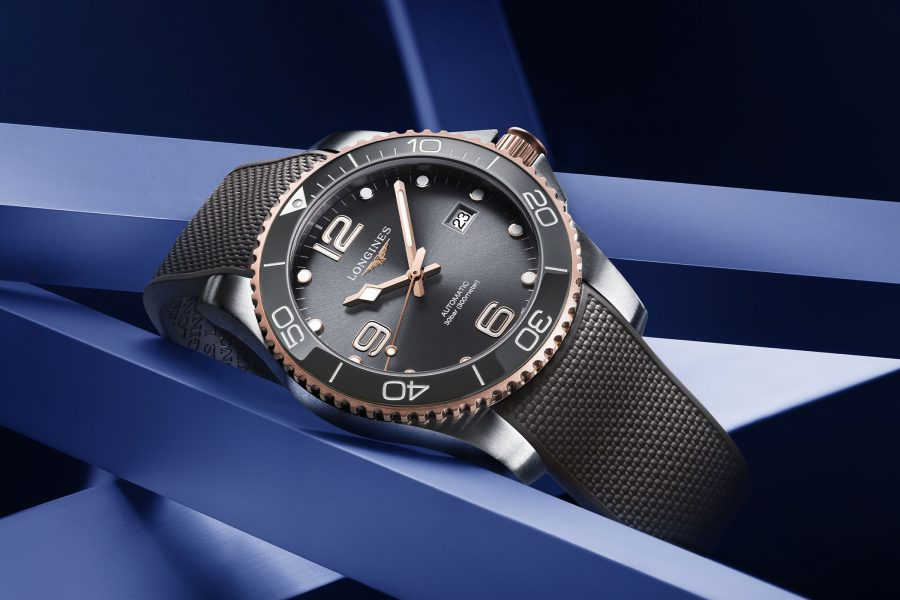The Longines HydroConquest 41mm Two-Tone Collection