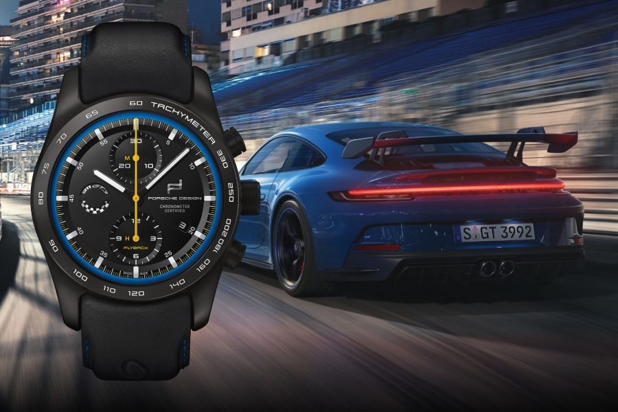 The Porsche Design Chronograph 911 GT3, Inspired by The New 992 GT3
